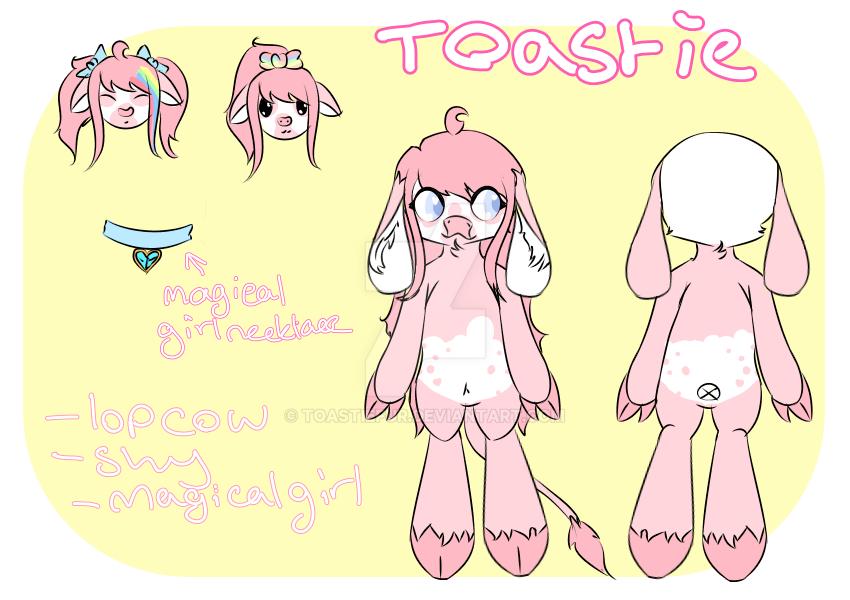 Toastie Ref [Personal] by ToastieFur