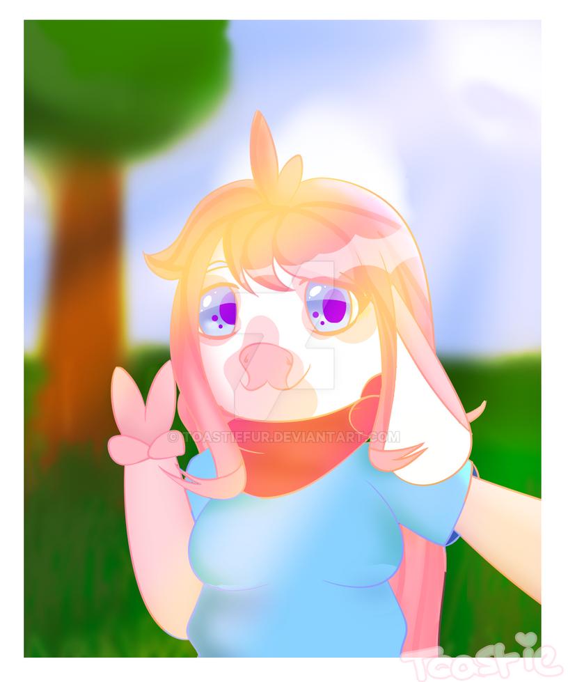 Selfie In a Summer Field! [personal] by ToastieFur