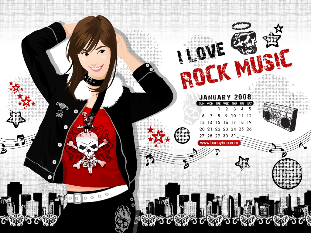 Simple Wallpaper Music Deviantart - i_love_rock_music_by_bunnybua  Picture_433463.jpg