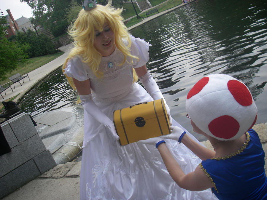 Give this to Mario - Peach and Toad - Spring '12