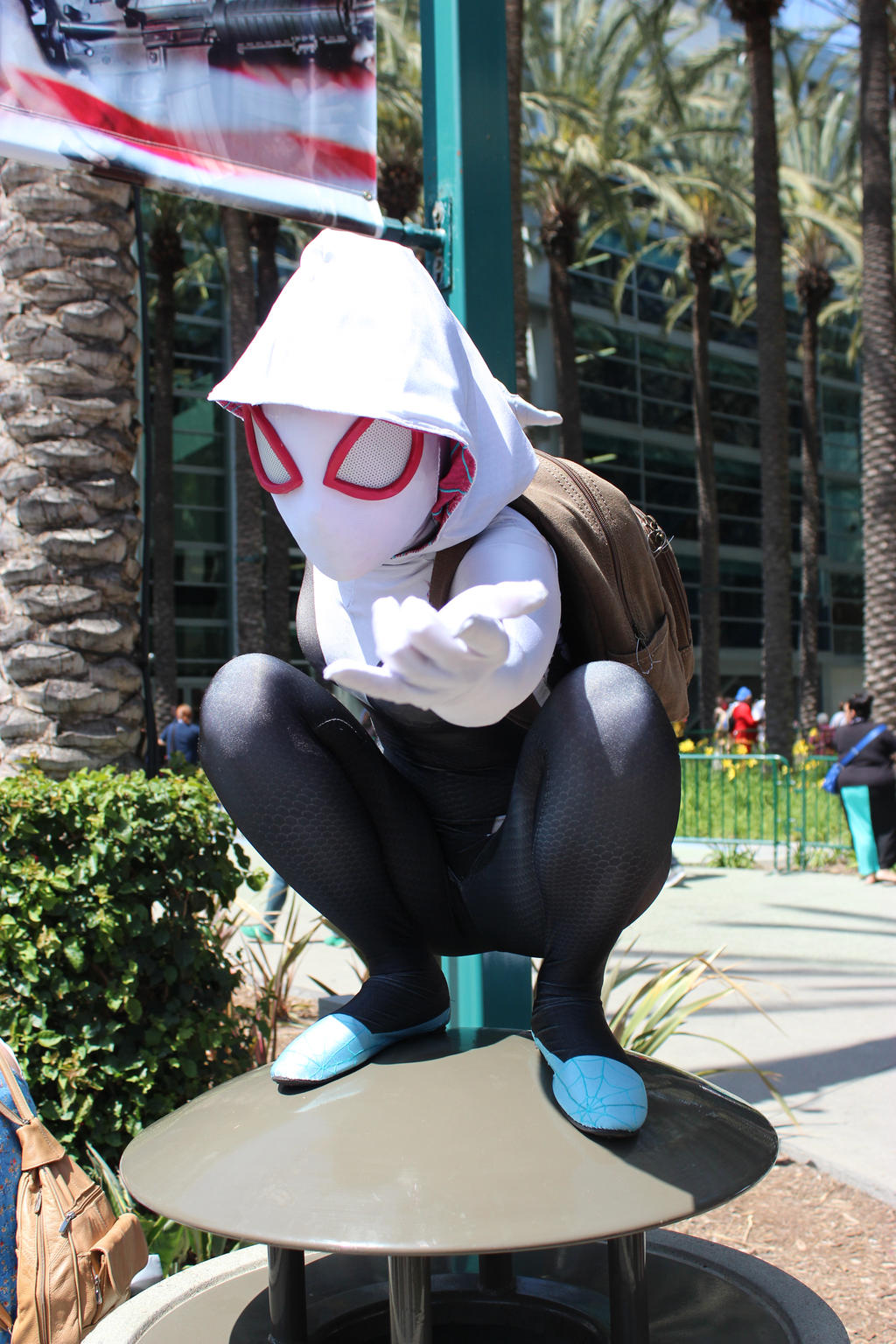 wondercon 2015 spider gwen by antshadow13