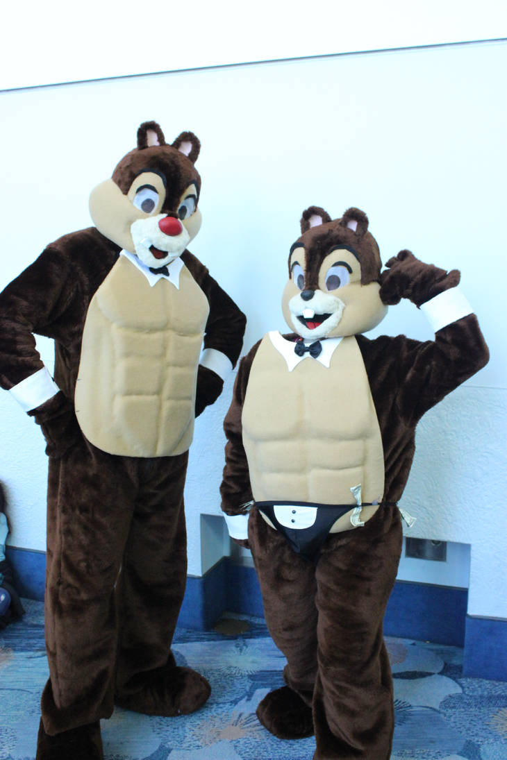 wondercon -  chip and dale by adamant27