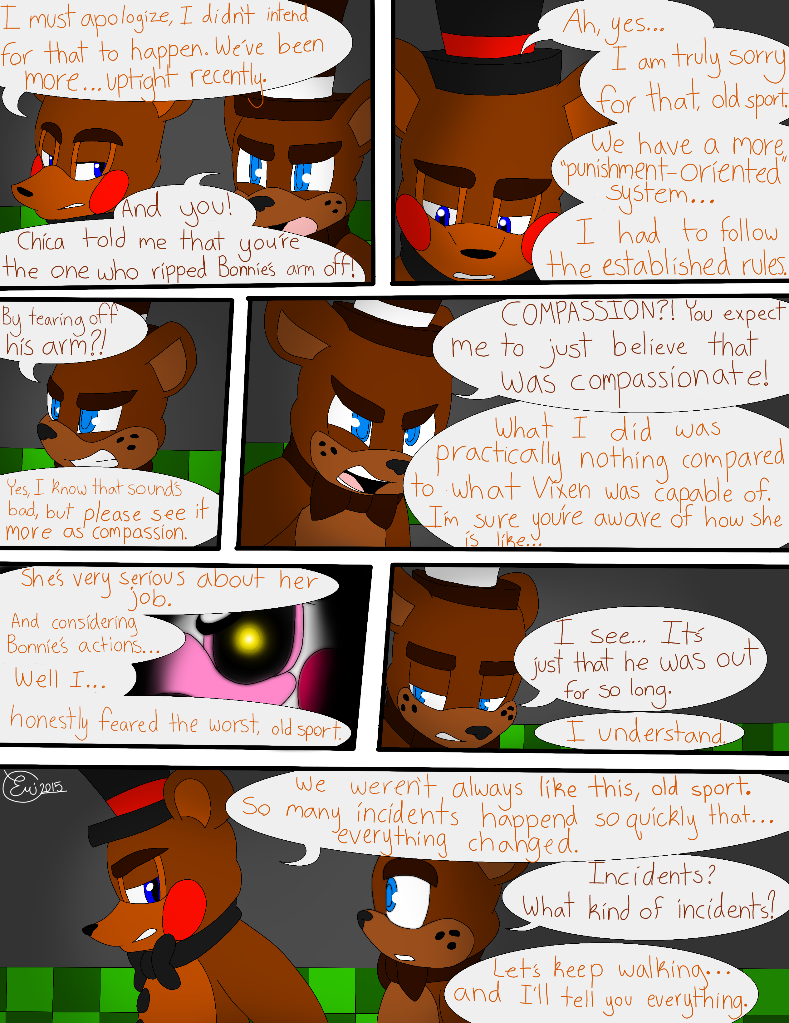 Fnaf what does phone guy say the first night yahoo myideasbedroom