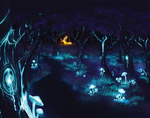 Follow the Glowing Deer