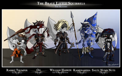The Brave Little Squirrels: Hunters by SquirrelEmperor