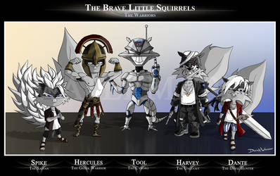The Brave Little Squirrels: Warriors by SquirrelEmperor