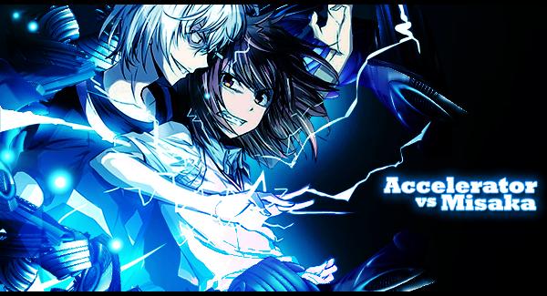 Accelerator Vs Misaka By UlquiorraCyfer