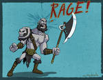 Grog would like to rage. by nuttydoodle
