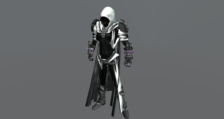 3D Futuristic Shadow Armor 1 by ZarthakFuturistic Ninja Armor