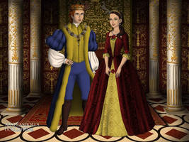 The Tudors: Adam and Belle by moonprincess22