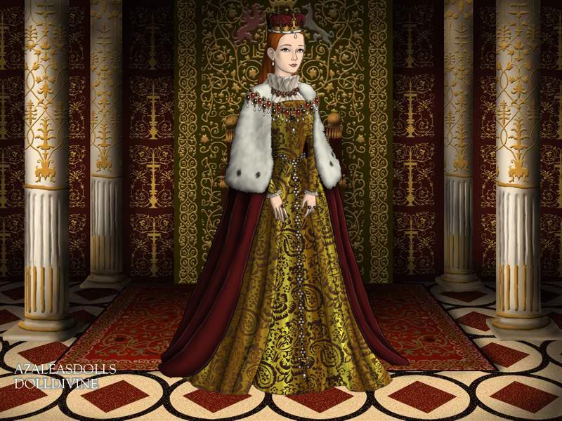 The Tudors: Queen Elizabeth by moonprincess22