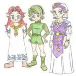 Ocarina of Time Girls