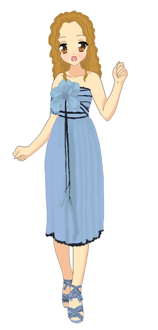 Alice's Blue Wonderland Dress by bananafontana on DeviantArt
