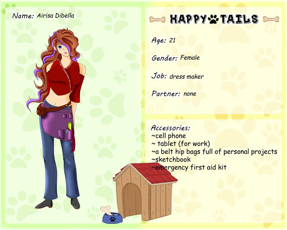 happy tails- Airisa Dibella by artisticchica