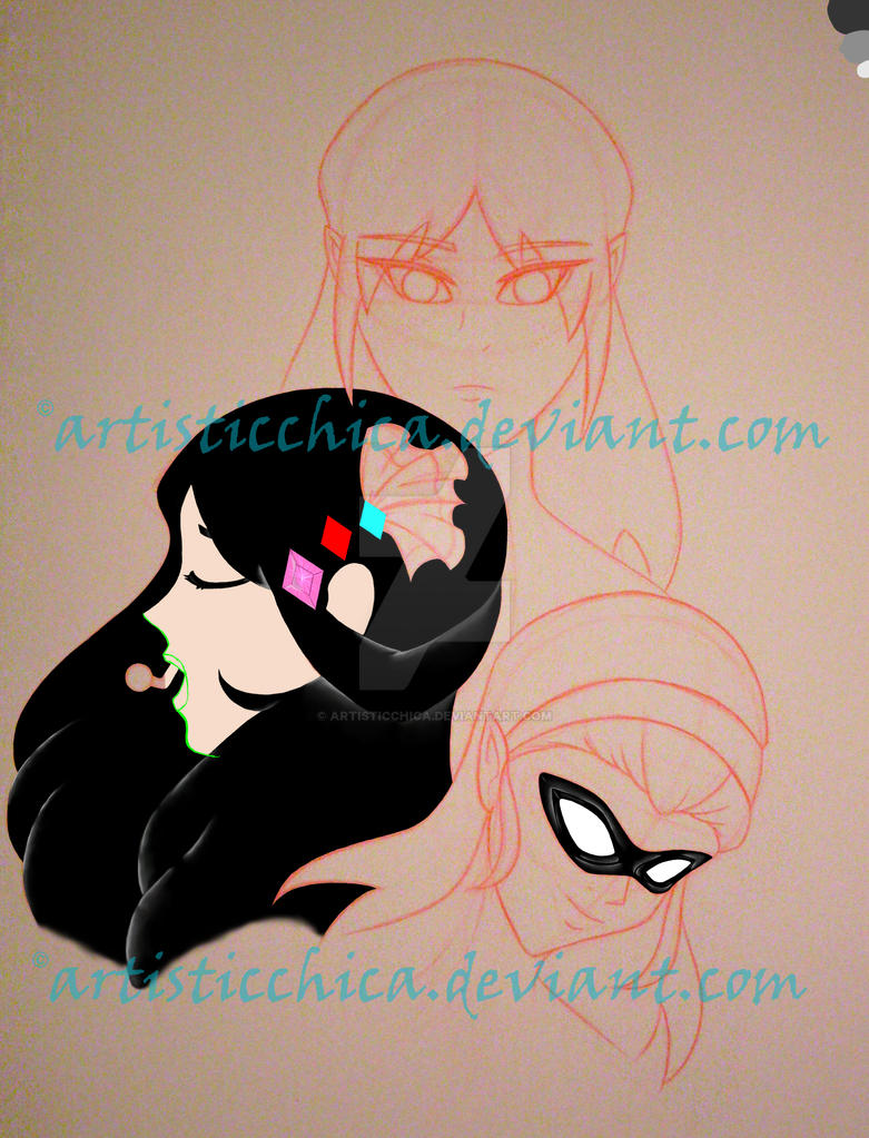 young justice OC (inprogress) by artisticchica
