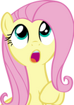 Fluttershy Vector - 05 Amazed