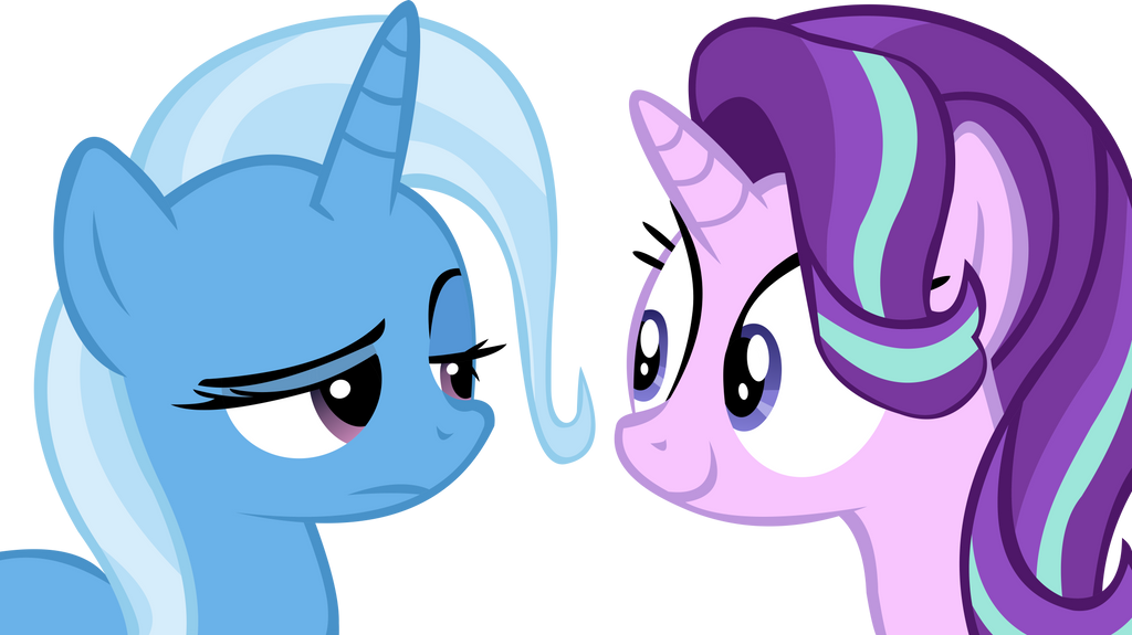 Trixie And SG Vector - Really Starlight? by CyanLightning