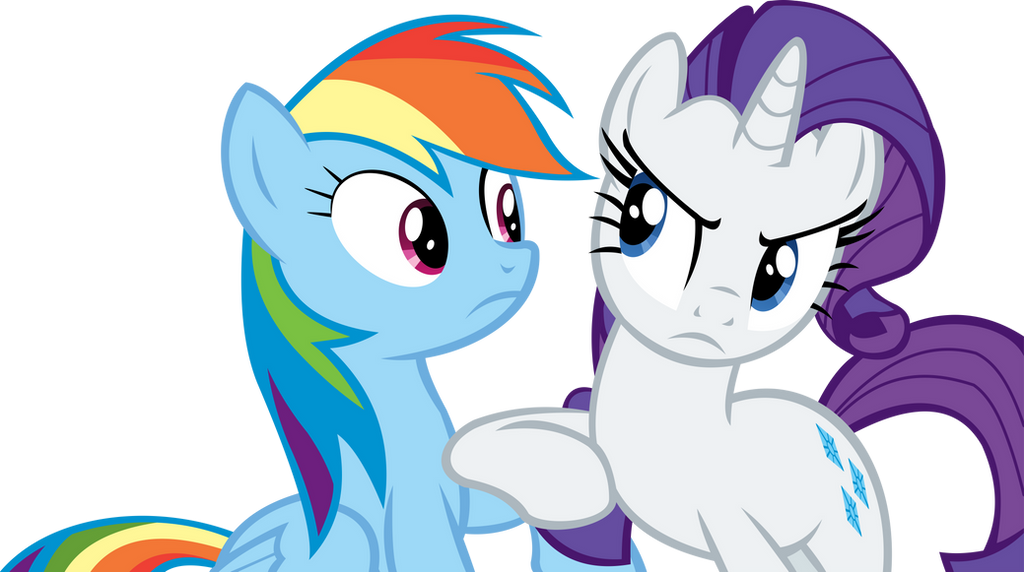 rarity and rainbow dash vector ahem by cyanlightning on vector diamond pattern vector diamond shapes