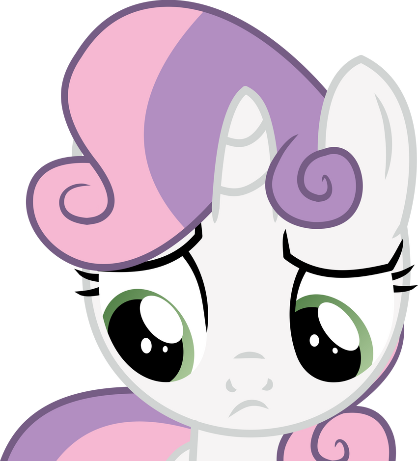 Sweetie Belle vector - 18 by CyanLightning