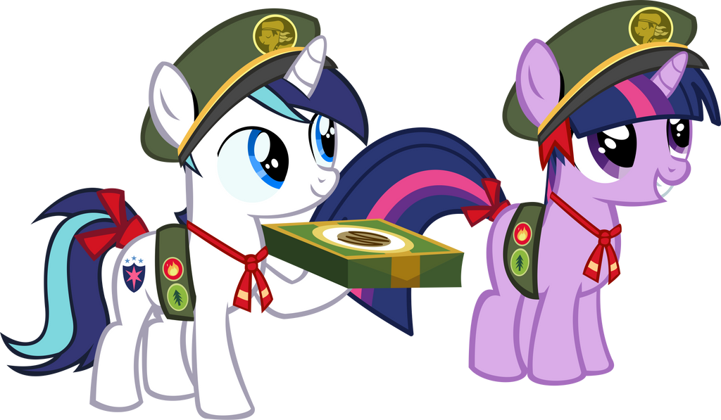 Twilight Sparkle and Shining Armor Vector - FG by CyanLightning