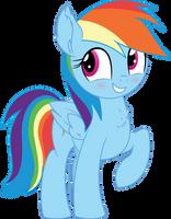 Rainbow Dash Vector 23 - Hehe by CyanLightning