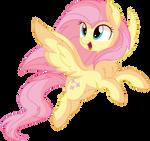 Fluttershy Vector 26 - Fluttering
