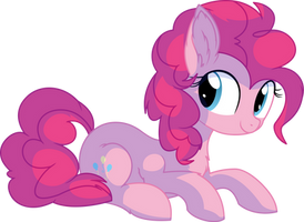 Pinkie Pie Vector 25 - Smiling by CyanLightning