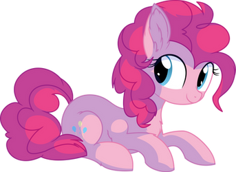 Pinkie Pie Vector 25 - Smiling by CyanLightning