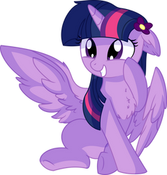 Twilight Sparkle Vector - 50 Squee by CyanLightning