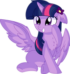 Twilight Sparkle Vector - 50 Squee