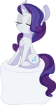 Rarity Vector 26 - Marshmallow