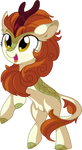 Autumn Blaze Vector 01 - Happy Kirin Noise