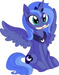 Princess Luna Vector 02 - Letter from a Princess