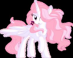 Princess Celestia Vector 01 - Flower by CyanLightning