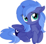 Princess Luna Vector 03 - Looking at You