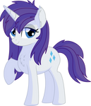 Rarity Vector 26 - Alternate Manestyle