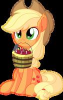 Applejack Vector 21 - Buy Some Apples by CyanLightning
