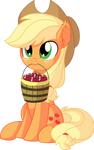 Applejack Vector 21 - Buy Some Apples by CyanLightning