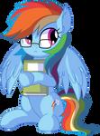 Rainbow Dash Vector 25 - NERD!!