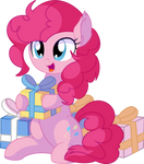 Pinkie Pie Vector 26 - Presents by CyanLightning