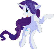 Rarity Vector 27 - Majestic by CyanLightning