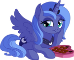 Princess Luna Vector 03 - Chocolate