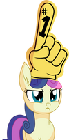 Bon Bon Vector 02 - Hand Thingy by CyanLightning