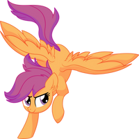 Scootaloo Vector 16 - Teenager by CyanLightning