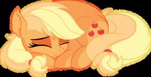 Applejack Vector 22 - Sleeping