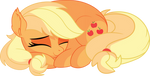 Applejack Vector 22 - Sleeping by CyanLightning