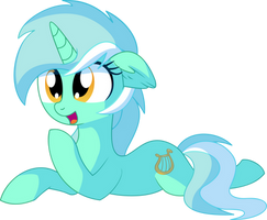 Lyra Vector 07 - Proning Down by CyanLightning