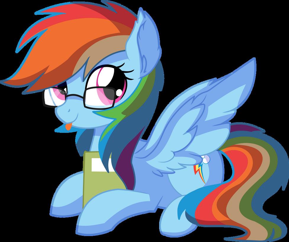 rainbow_dash_vector_26___lovely_nerd_by_