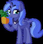 Princess Luna Vector 04 - Pineapple