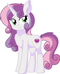 Sweetie Belle Vector - 21 Adult Sweetie Belle by CyanLightning